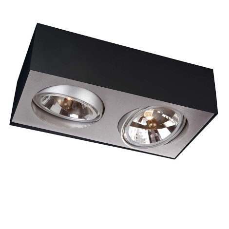 Philips Lirio 57002/30/LI - Bodové svítidlo BLOQ 2xG53/50W/230V