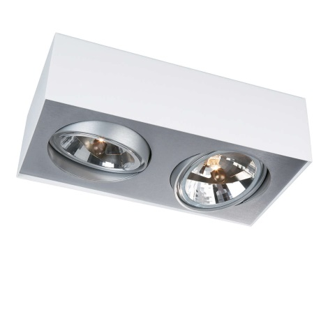 Philips Lirio 57002/31/LI - Bodové svítidlo BLOQ 2xG53/50W/230V