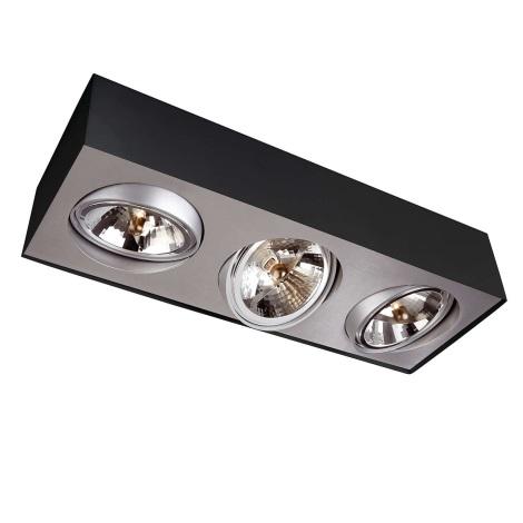 Philips Lirio 57003/30/LI - Bodové svítidlo BLOQ 3xG53/50W/230V