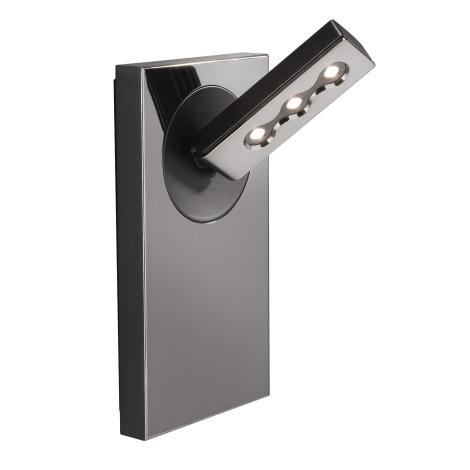 Philips Lirio 57160/13/LI - LED Nástěnné svítidlo PONATO 1xLED/7,5W černý chrom