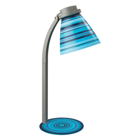 Philips Massive 12923/01/35 - Stolní lampa 1xE14/40W modrá