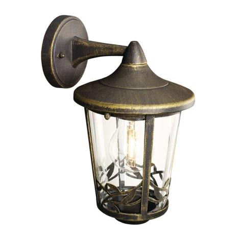 Philips Massive 15391/42/10 - Venkovní nástěnné svítidlo CHARTRES 1xE27/60W/230V