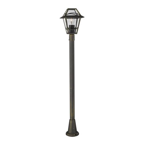 Philips Massive 15423/42/10 - Venkovní lampa BABYLON 1xE27/60W/230V