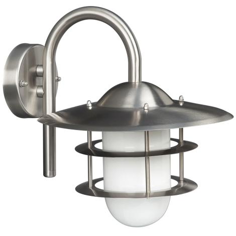 Philips Massive 16219/47/10 - Venkovní nástěnné svítidlo BRATISLAVA 1xE27/60W