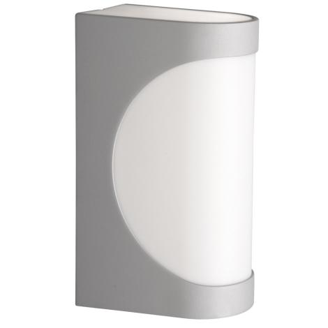Philips Massive 16251/87/10 - Venkovní lampa SYDNEY 1xE27/14W metalicky šedá