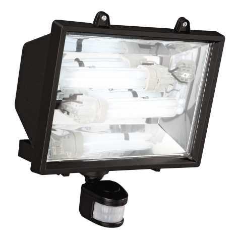 Philips Massive 16266/30/10 - Venkovní reflektor s čidlem 2xG24D/26W