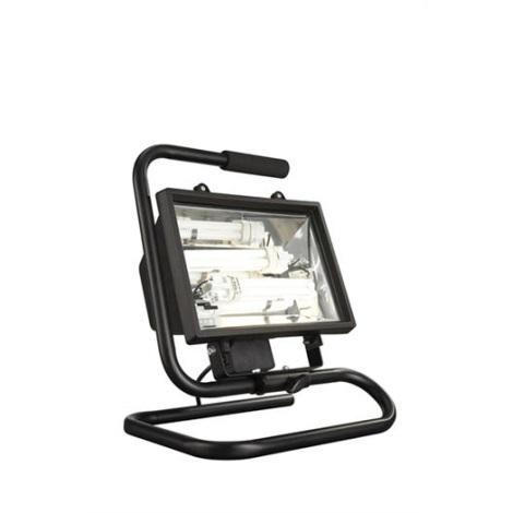 Philips Massive 16267/30/10 - Venkovní reflektor 2xG24D/26W černá