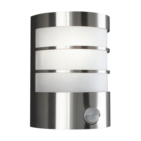 Philips Massive 17026/47/10 - Venkovní nástěnné svítidlo s čidlem CALGARY 1xE27/60W/230V