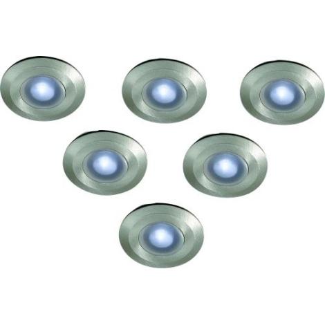 Philips Massive 17080/47/10 - SADA 6x LED Venkovní nájezdové svítidlo RAMSGATE 6xLED/0,06W