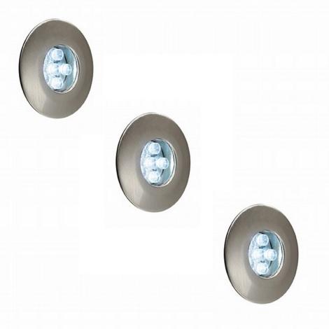 Philips Massive 17099/17/10 - Sada 3xLED podhledové svítidlo 3xLED/0,6W/12V