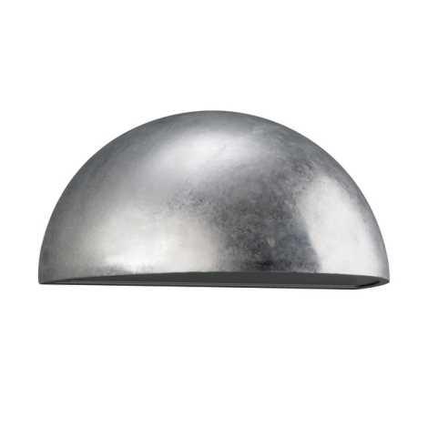 Philips Massive 17225/18/10 - Venkovní nástěnné svítidlo TAMPERE 1xE27/23W galvanizovaný kov zinek