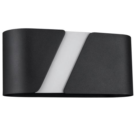 Philips Massive 33246/30/10 - Nástěnné svítidlo KATIE 1xE27/23W černá