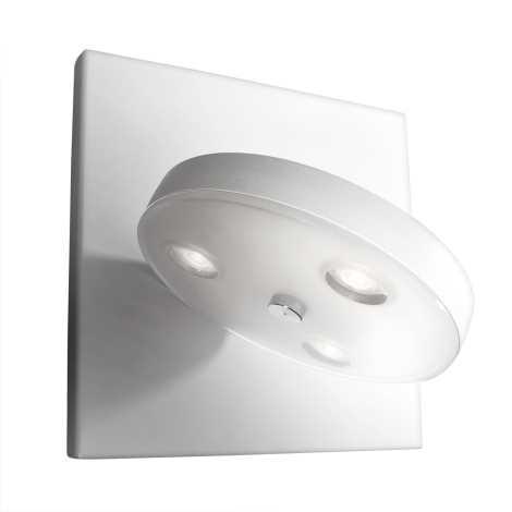 Philips Massive 33258/31/10 - LED Nástěnné svítidlo LOUISE 3xLED/2,5W bílá