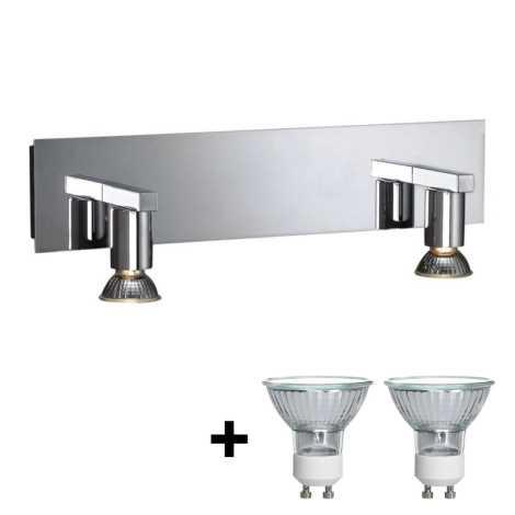 Philips Massive 34026/11/10 - Koupelnové bodové svítidlo HORIZON 2xGU10/50W/230V