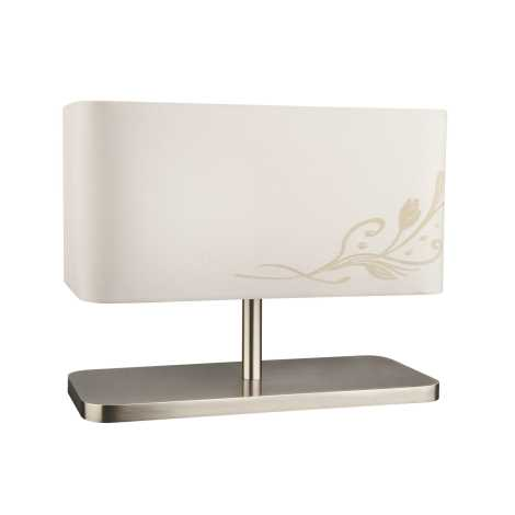 Philips Massive 38064/38/10 - Stolní lampa NELSON 1xE27/60W krémová