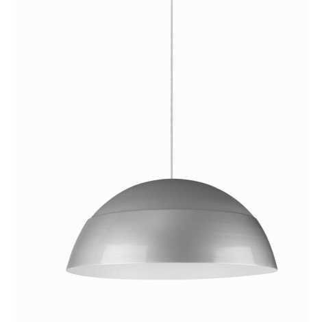 Philips Massive 40616/48/10 - Závěsný lustr GAJU 1xE27/40W stříbrnošedá