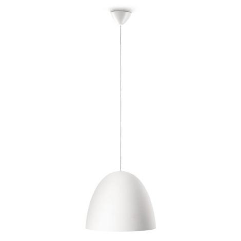 Philips Massive 40617/31/10 - Závěsný lustr MARCOSO 1xE27/40W bílá