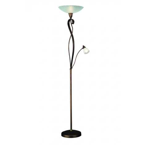 Philips Massive 42003/43/10 - Stojací lampa MIERT 1xE27/150W+1xE14/40W