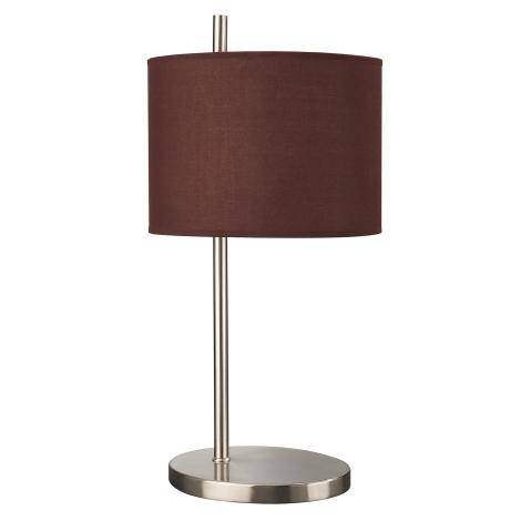 Philips Massive 43205/43/10 - Lampa stolní 1xE27/60W hnědá