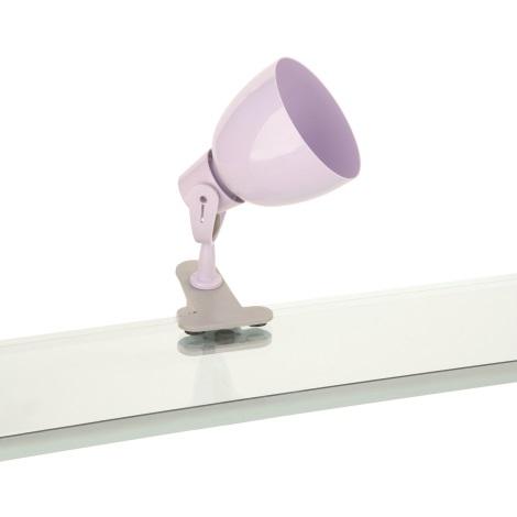 Philips Massive 51201/20/10 - Bodové svítidlo TIMO 1xE14/12W fialová