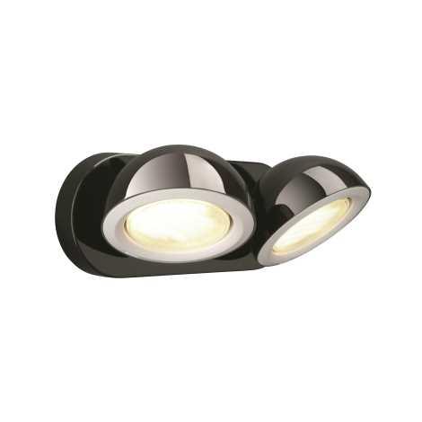 Philips Massive 53122/30/10 - Bodové svítidlo LEN 2xGX53/9W černá