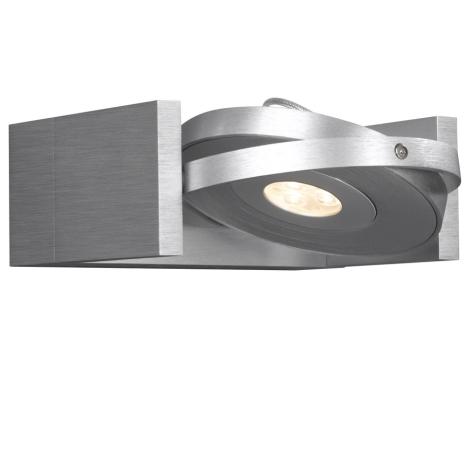 Philips Massive 53150/48/10 - LED Bodové svítidlo VISION 1xLED/7,5W/230V hliník