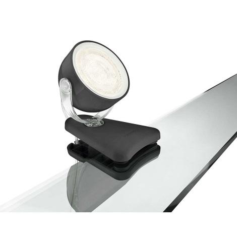 Philips Massive 53231/30/16 - LED stolní lampa MYLIVING na klip 1xLED SMD/3W/230V