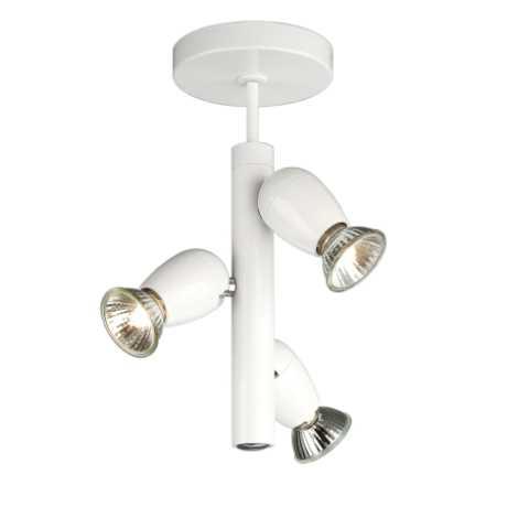 Philips Massive 54443/31/10 - Bodové svítidlo OZZY 3xGU10/50W bílá