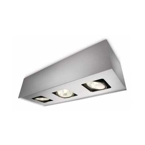 Philips Massive 56233/48/10 - Bodové svítidlo ONYX 3xGU10/50W