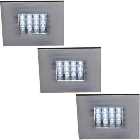 Philips Massive 59038/17/10 - SADA 3x LED Downlight NOVARA 3xLED/0,96W/9V