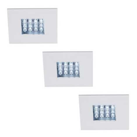 Philips Massive 59038/31/10 - SADA 3x LED podhledové svítidlo NOVARA 16xLED/0,06W/230V
