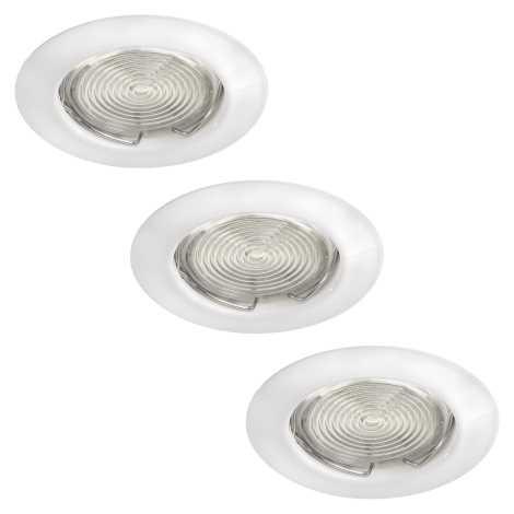 Philips Massive 59383/31/19 - SADA 3x LED podhledové svítidlo FREA 3xGU10/3W/230V + 3xGU10/7W