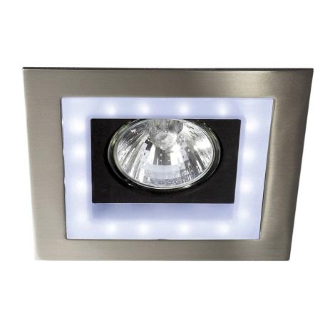 Philips Massive  59530/17/10 - LED Zápustné bodové svítidlo BONZI 1xGU10/35W + 16xLED/3W