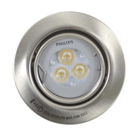 Philips Massive 59620/17/10 - LED koupelnové podhledové svítidlo SHINE 1xLED/3W/230V