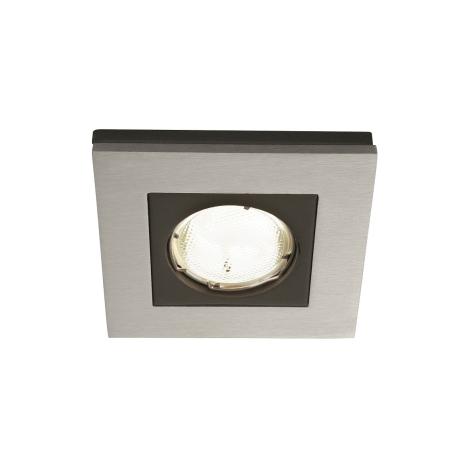 Philips Massive 59650/48/10 - Koupelnové podhledové svítidlo HEKA 1xGU10/10W/230V hliník