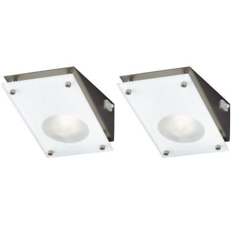 Philips Massive 59702/17/10 - SET 2x Bodové svítidlo CHIVES 1xG4/20W/12V
