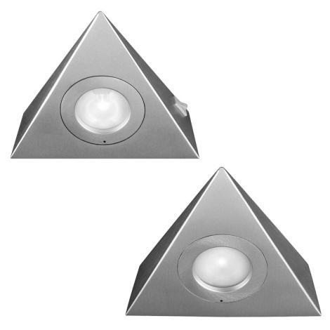 Philips Massive 59704/48/10 - SADA 2x Podhledové svítidlo SESAME 2xG4/20W/12V