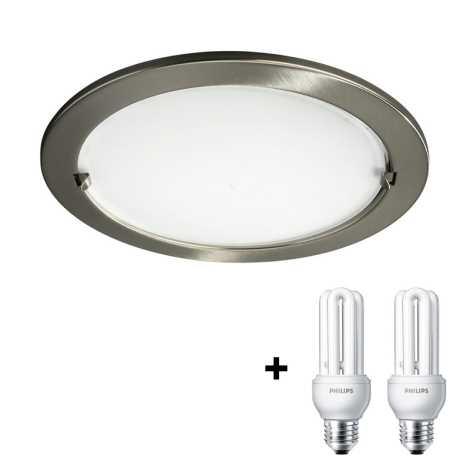 Philips Massive 59756/06/LM - Podhledové svítidlo 2xE27/14W/230V