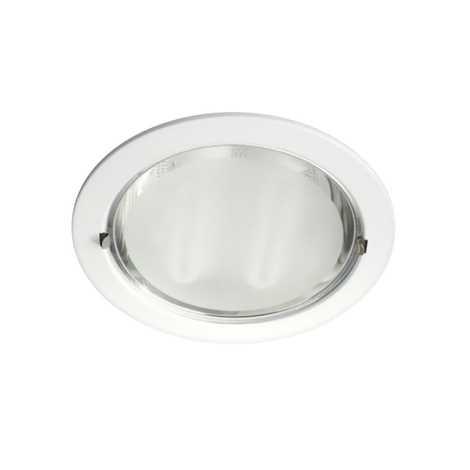Philips Massive 59756/31/19 - Podhledové svítidlo 2xE27/12W/230V bílá