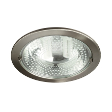 Philips Massive 59799/17/10 - Downlight RONDA 2xE27/14W matný chrom