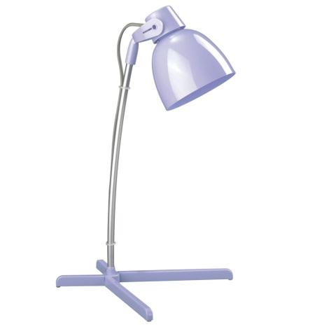 Philips Massive 66615/20/10 - Stolní lampa TIMO 1xE14/12W fialová