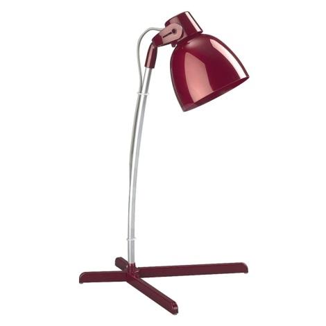 Philips Massive 66615/32/10 - Stolní lampa TIMO 1xE14/12W vínová