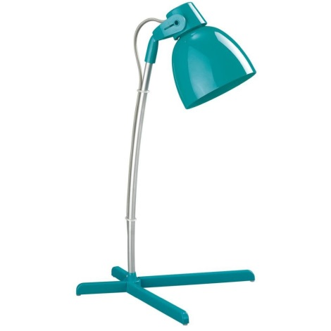 Philips Massive 66615/46/10 - Stolní lampa TIMO 1xE14/12W tyrkysová