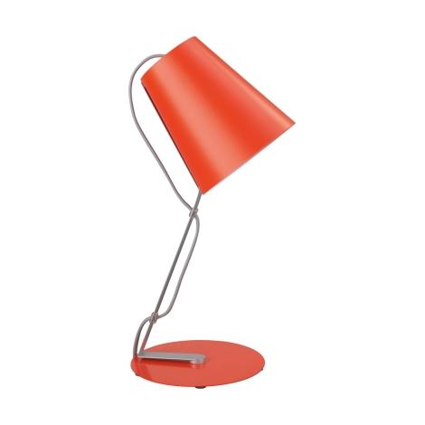 Philips Massive 66620/32/10 - Stolní lampa SKIP 1xE14/12W oranžová