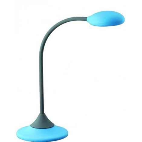 Philips Massive 66622/35/10 - Stolní lampa WARREN 1xGX53/9W modrá