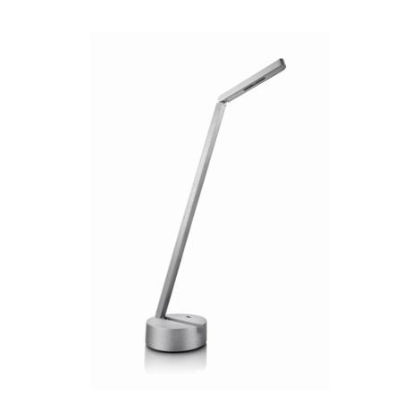 Philips Massive 66710/48/16 - LED Stolní lampa CRANE 1xLED/7,5W šedá