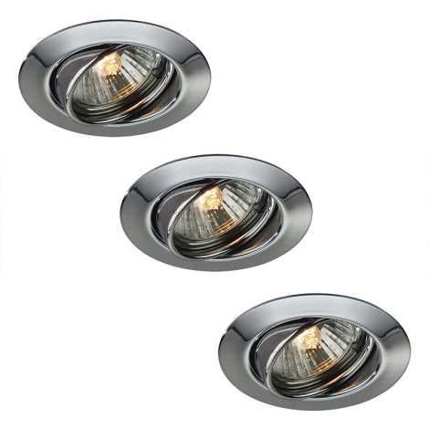 Philips Massive LED 59333/11/10-3X 10W-LED- SADA koupelnové podhledové svítidlo OPAL 3xLED/10W