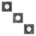 Philips - SADA 3x Podhledové svítidlo 3xGU10/5,5W/230V