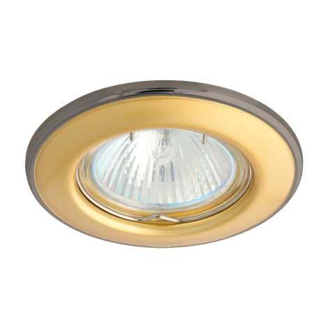 Podhledové svítidlo AXL 3114 1xMR16/50W perleťově zlatá / nikl - GXPP014