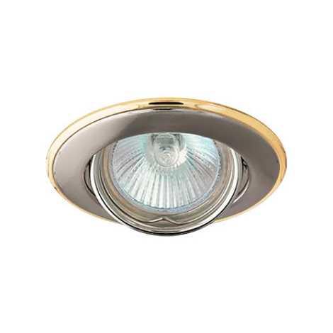 Podhledové svítidlo AXL 3115 1xMR16/50W saténový nikl / zlatá - GXPP045